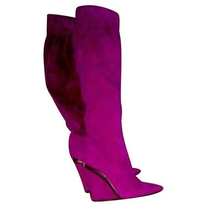 Casadei Stiefel aus Wildleder