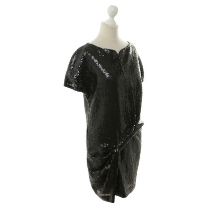 Anne Valerie Hash Short sleeve dress with sequins