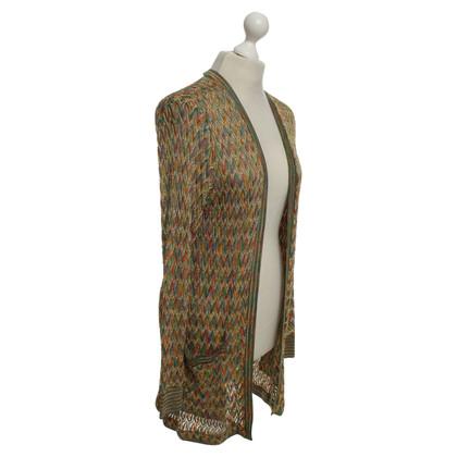 Missoni Jacket with crochet pattern
