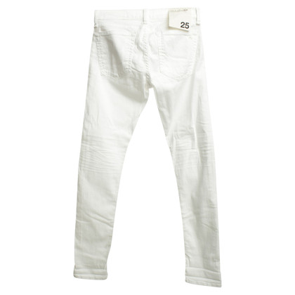 Rag & Bone Jeans in Weiß