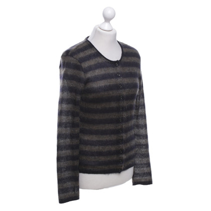 Marc Cain Cardigan with stripes pattern