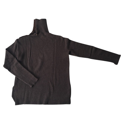 Ralph Lauren Merino sweater with leather details