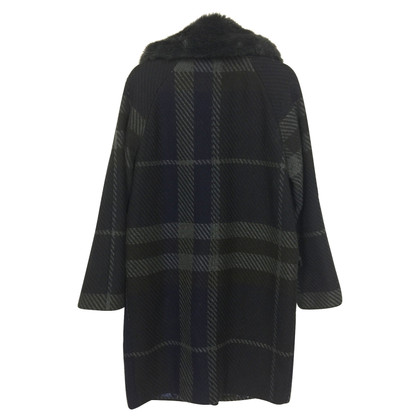 Clements Ribeiro Coat with faux fur collar