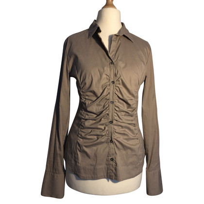 Bogner Blouse in Taupe