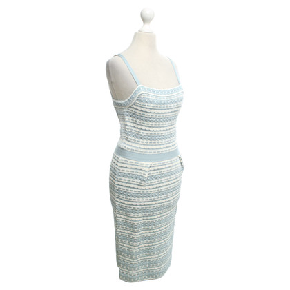 Christian Dior Dress in blue / white