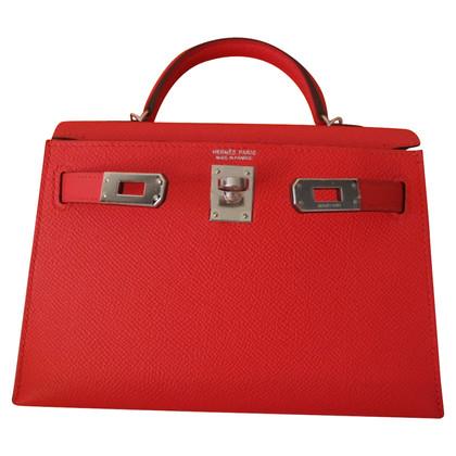 Hermès Kelly Bag in Rouge Tomate
