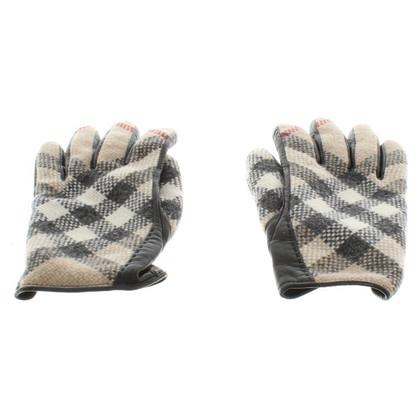 Burberry Handschoenen met Nova patroon van de controle