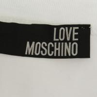 Moschino Love Top in het wit