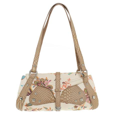 Geringster Preis Online-Bilder Verkauf Just Cavalli Handtasche in Multicolor Beige Günstig Kaufen Vorbestellung Offizielle Seite Billig Footlocker d3vN4GDmw