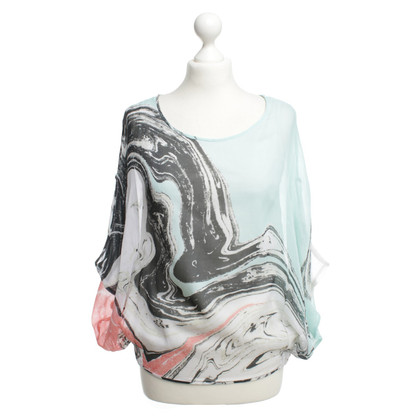 "Diane von Furstenberg ""Robyn top"" with pattern"
