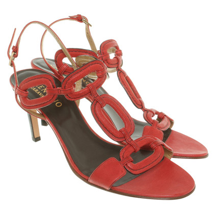 Valentino Sandals in red
