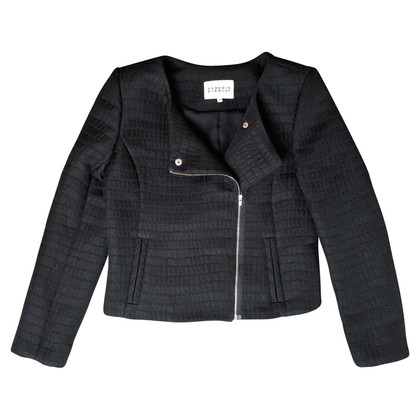 Claudie Pierlot jas Transition in biker stijl