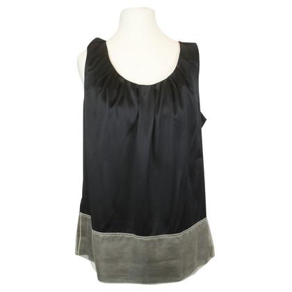 Schumacher Silk blouse with elastane