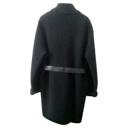 Pinko Bouclé coat wool