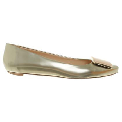 Tod's Ballerinas in metallic look