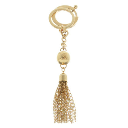 Louis Vuitton Gold colored keychain