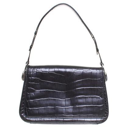 Escada Handbag with reptile embossing