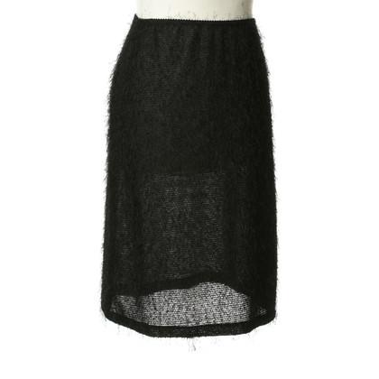 Marc Cain Elastic skirt in black