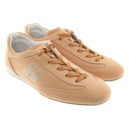 Hogan Chaussures de sport beige