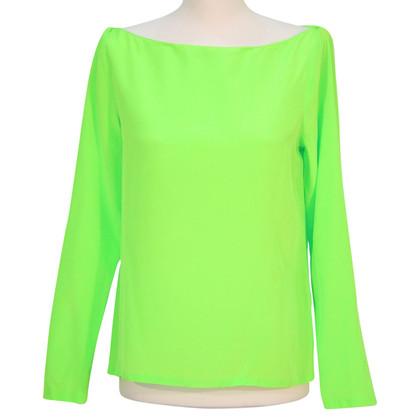 Ralph Lauren Silk top in green