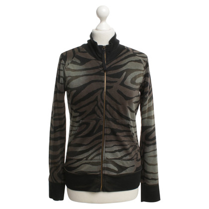 See by Chloé Sweatshirt jacket with animal print