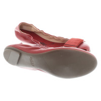 Bally Ballerinas in red