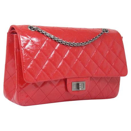 Chanel Reissue Jumbo destressed Rot Billig Verkauf Versand Niedriger Preis Gebühr Günstiges Shop-Angebot 6DSGAviPUr