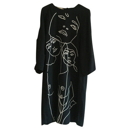 Stella McCartney Viscose dress with sketch 42 IT