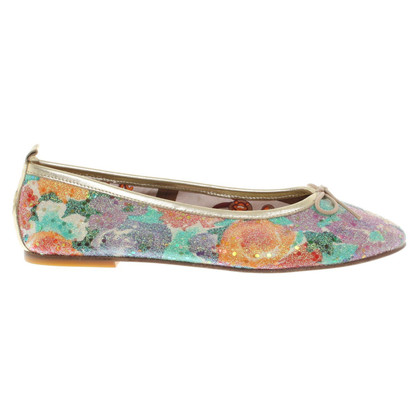 Pollini Ballerinas in Multicolor