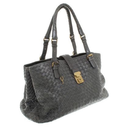 Bottega Veneta Shoulder bag in dark gray