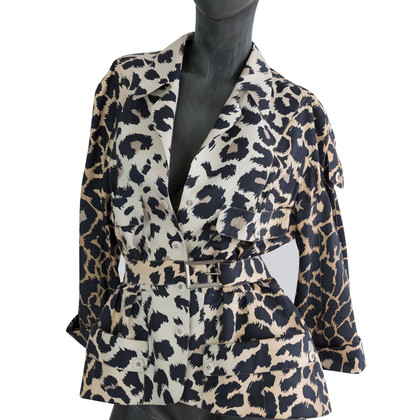 Mugler Vest met luipaard print