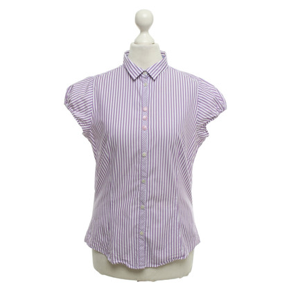 Paul Smith Short-sleeved blouse with striped pattern