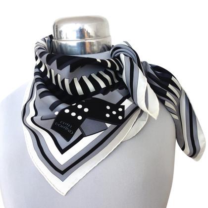 """Hermès Zijden sjaal """"l'effet Domino"""""""
