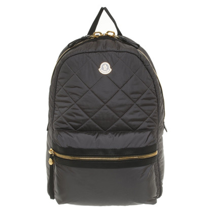 Moncler Backpack with logo application