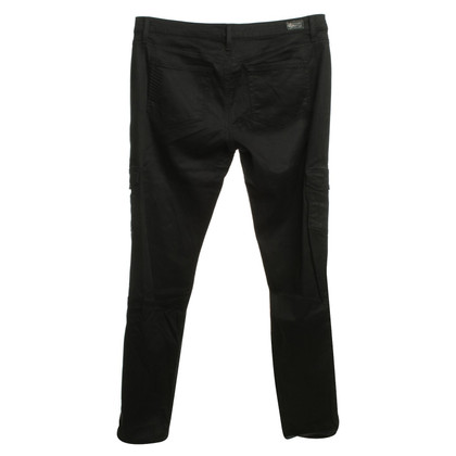Paige Jeans Cargo-look pants in black