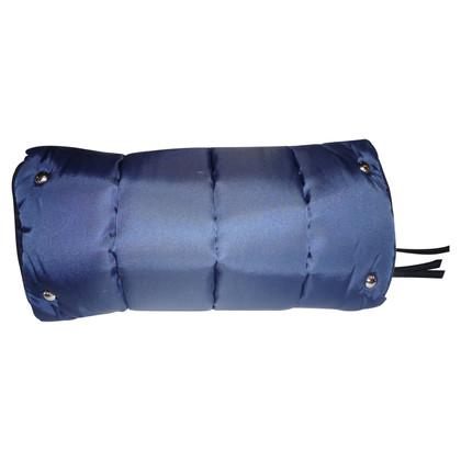 Prada Borsa in nylon blu navy da Prada