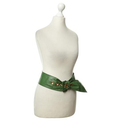 Prada Green belt