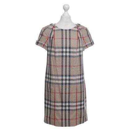Burberry Kleid mit Nova-Check Muster
