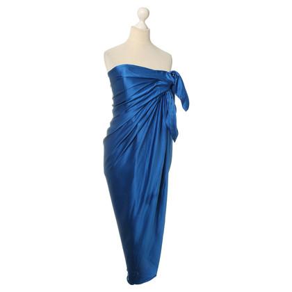 Lanvin Blue silk dress