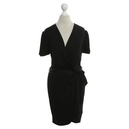 D&G Black dress in winding look