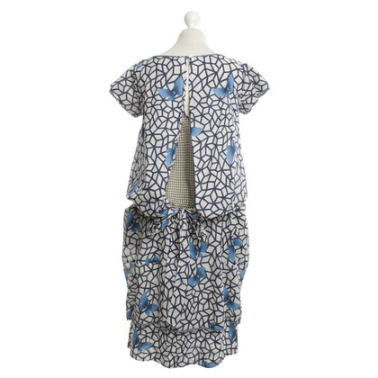 Wunderkind Silk dress with pattern