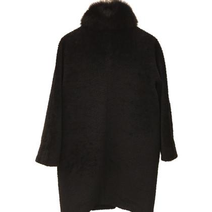 Max Mara Coat with Fox Fur