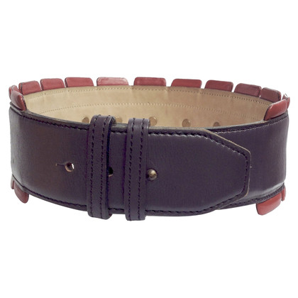 Alaïa Wise leather belt
