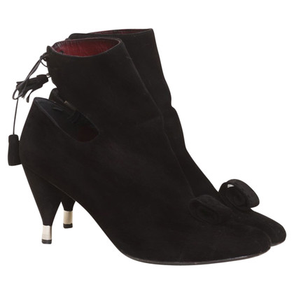 Fratelli Rossetti Suede non-conformist ankle boots