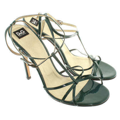 Dolce & Gabbana Sandals in Green