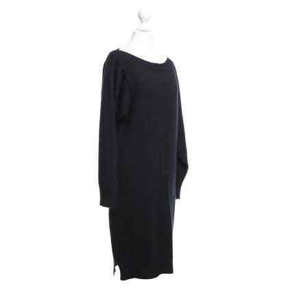 Hermès abito cashmere in nero