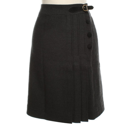 Milly Business-skirt in dark gray