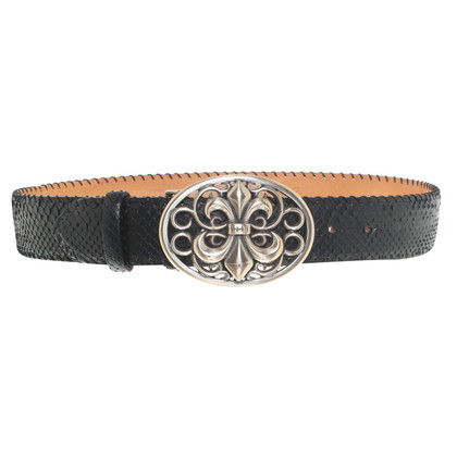 Reptile's House Belt in black