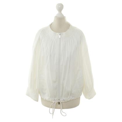 Max Azria Leichte Jacke in Weiß