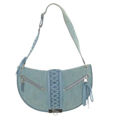 Christian Dior Denim Handtasche